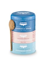 Justea Justea - herbal tea trio - Chamomille dream|Little berry Hibiscus|Peppermint detox|Biologisch | Fairtrade | Non-GMO.