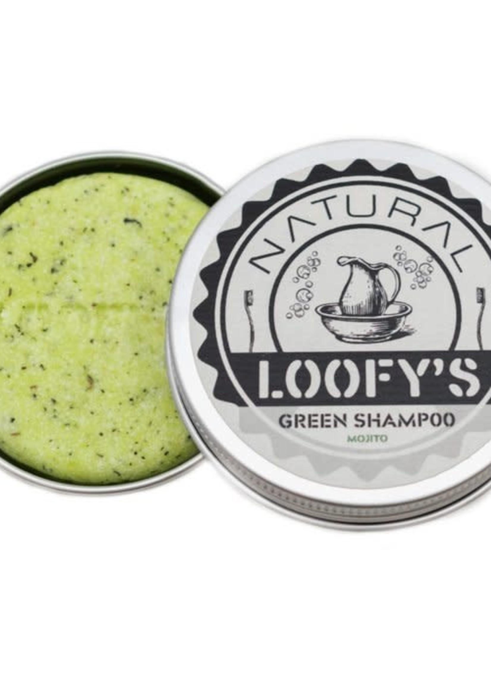 Loofy's Loofy's Shampoo Bar - Green met bakje - normaal tot droog haar