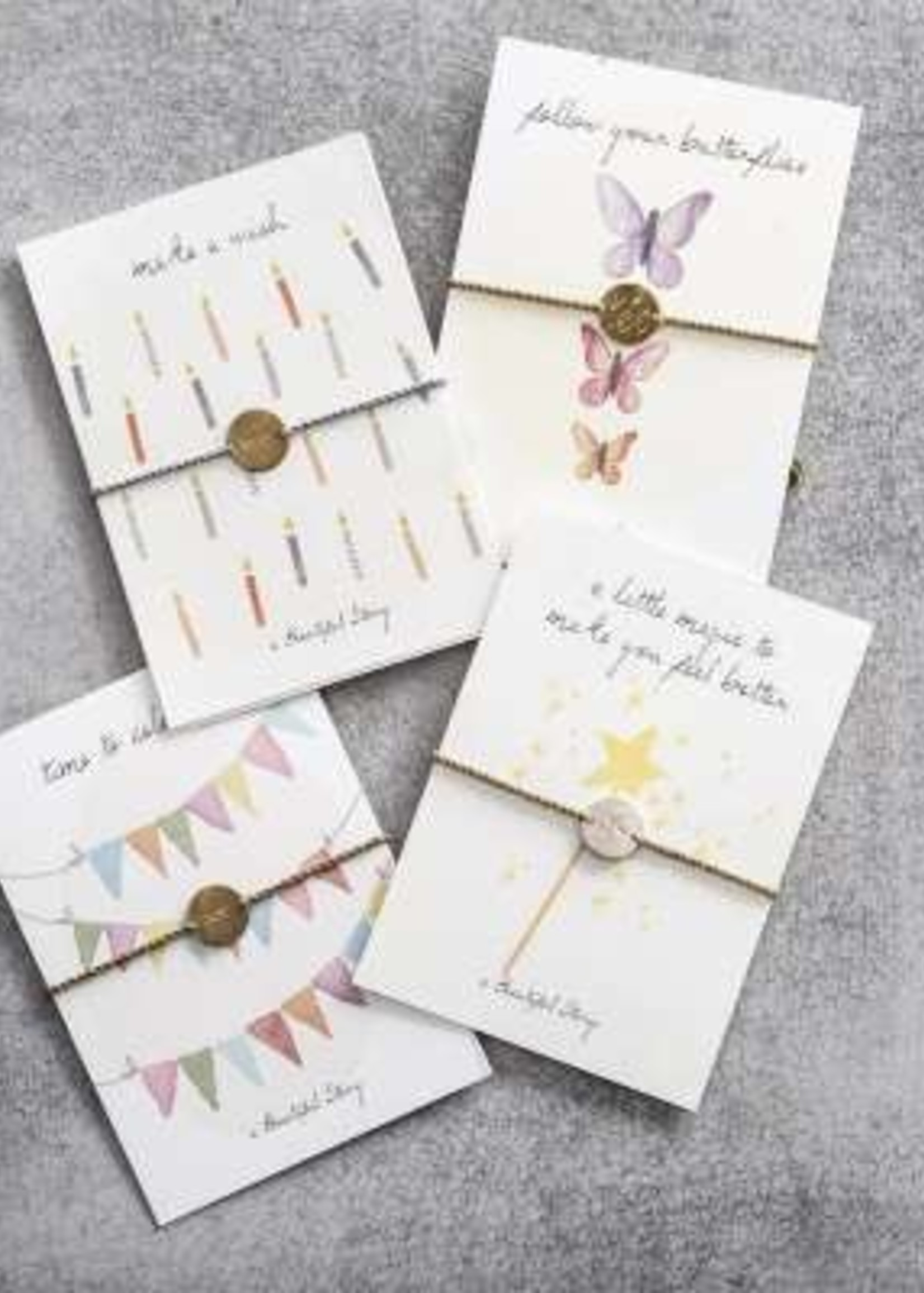 A Beautiful Story Jewelry Postcard Magic - a little magic to make you feel better