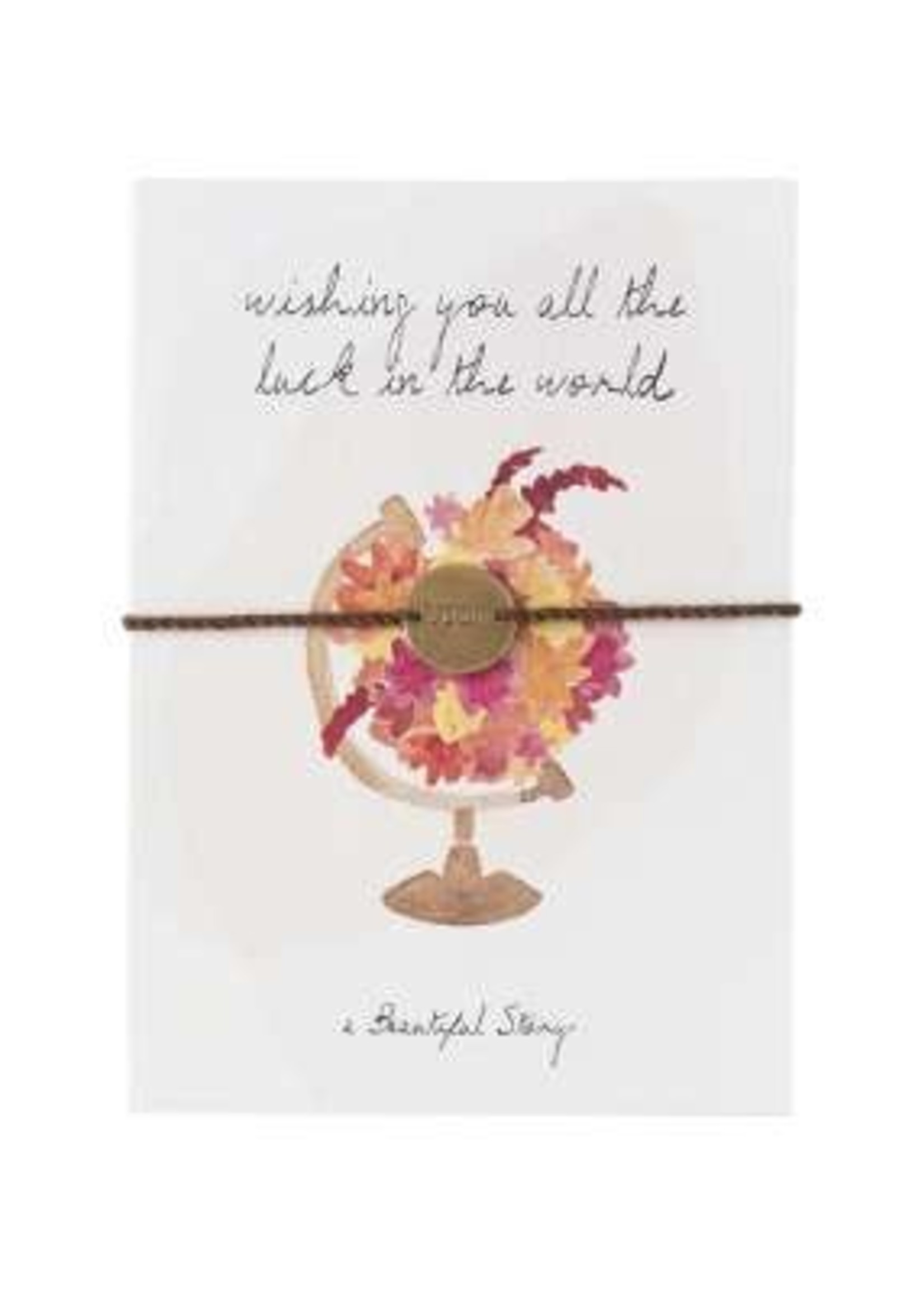 A Beautiful Story Jewelry Postcard World - wishing you all the luck in the world