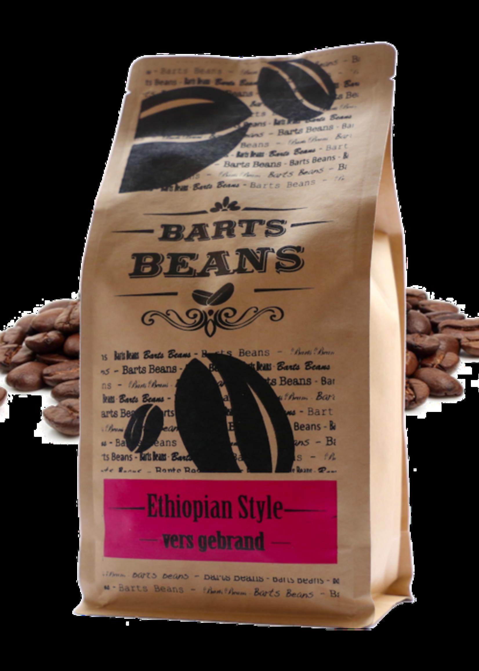 Bart's Beans Bart's Beans - Koffiebonen - Ethiopian Style -500gr.