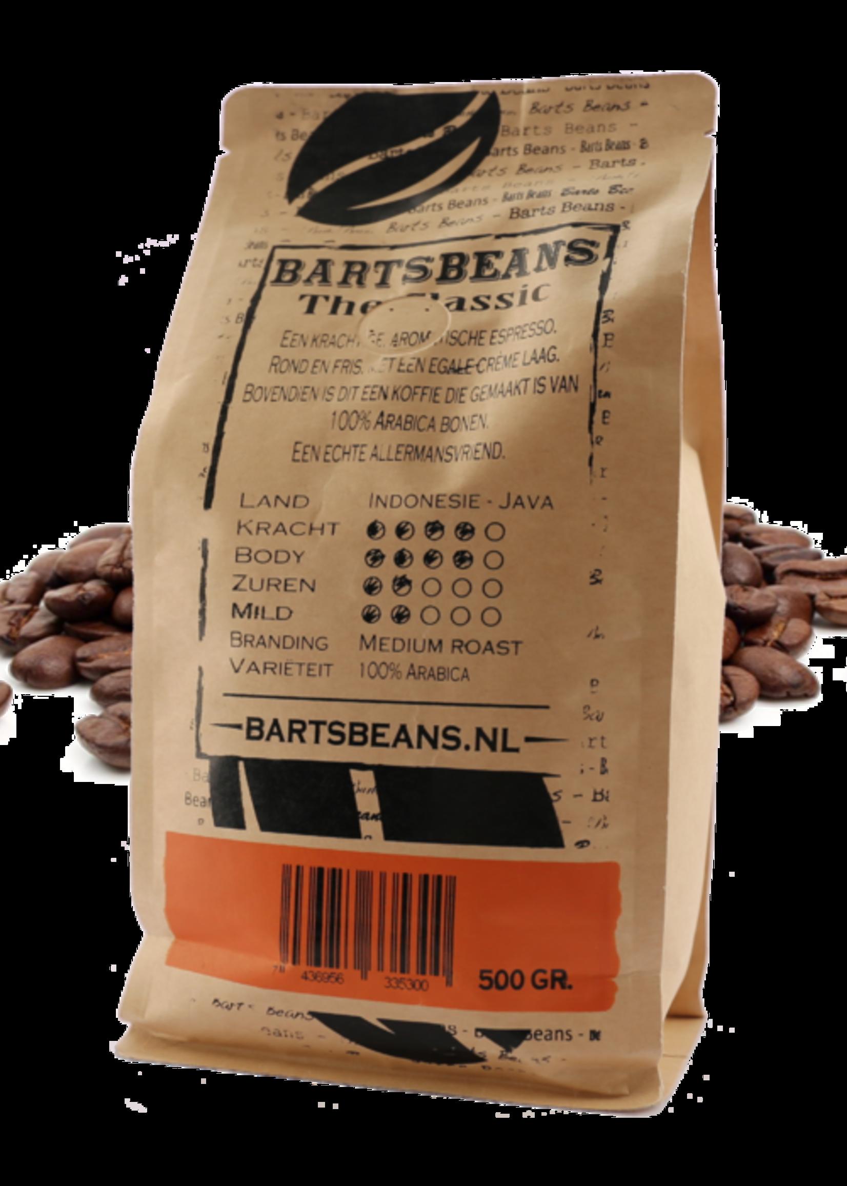 Bart's Beans Bart's Beans - Koffiebonen - Classic - 500gr.