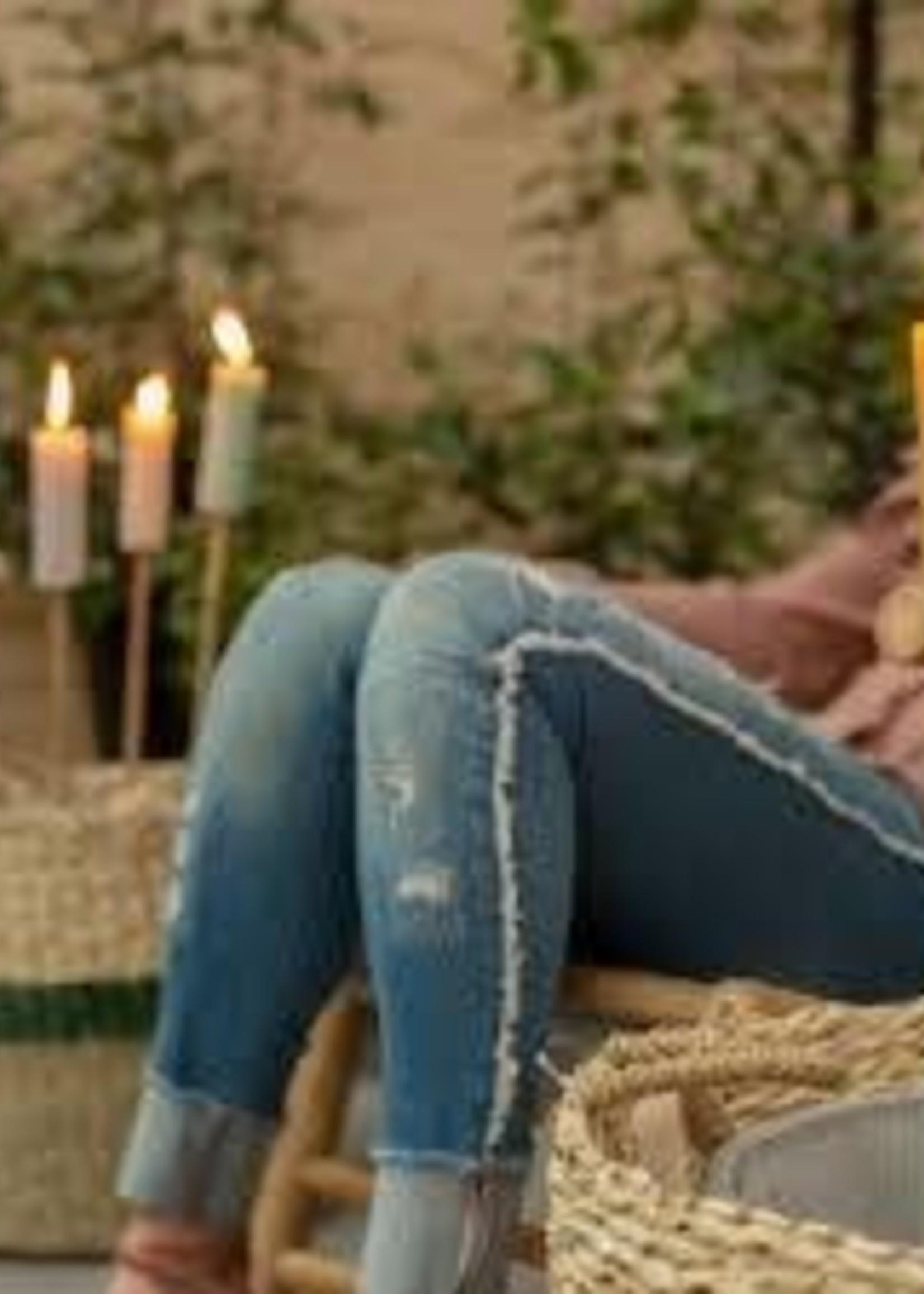 Rustik Rustik- Bamboe Tuin Fakkel 63cm - Flowers kaars -3.8 x12cm - Eco Friendly