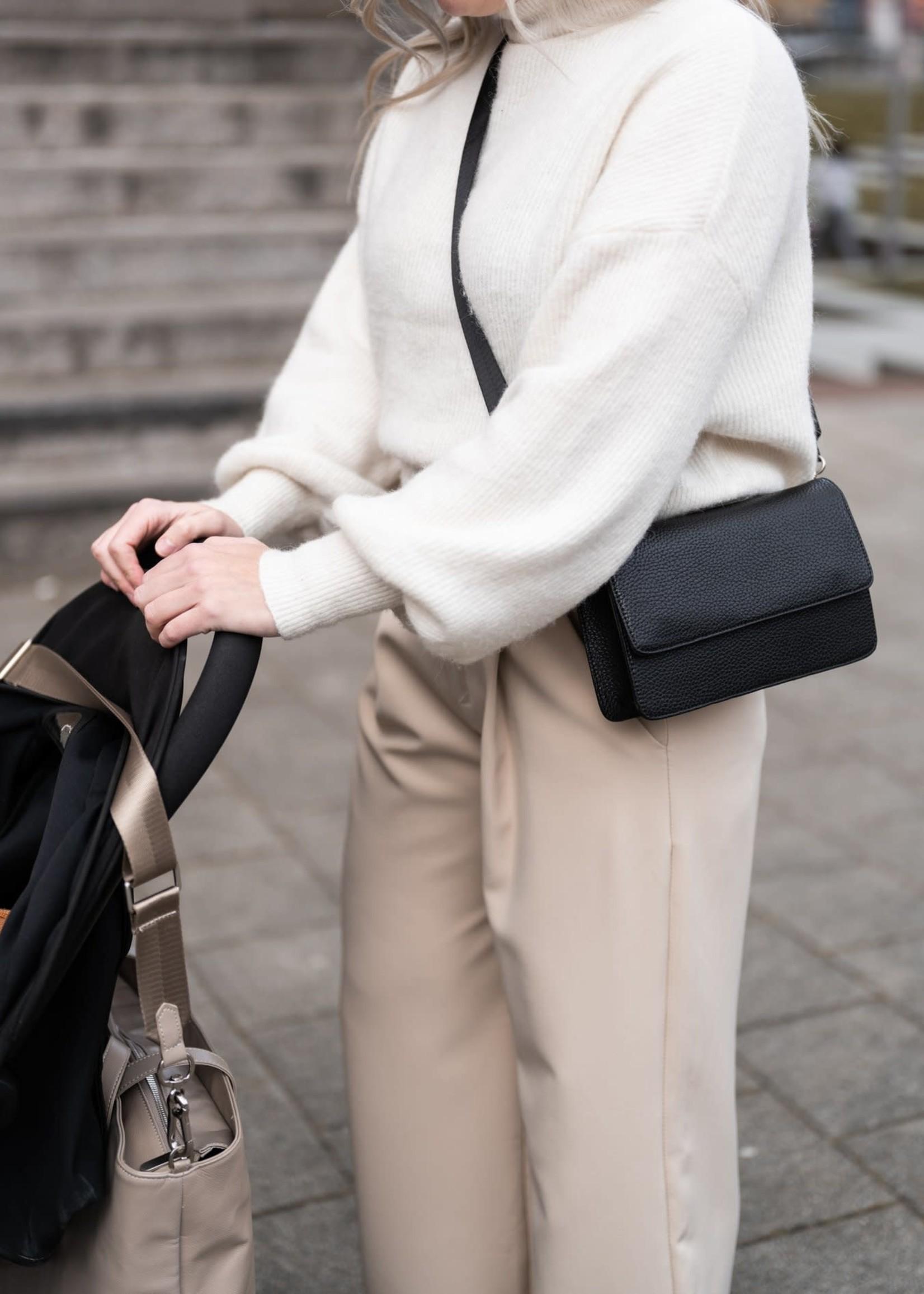 Denise Roobol Denise Roobol - Clutch Bag - Black - Vegan Handtas