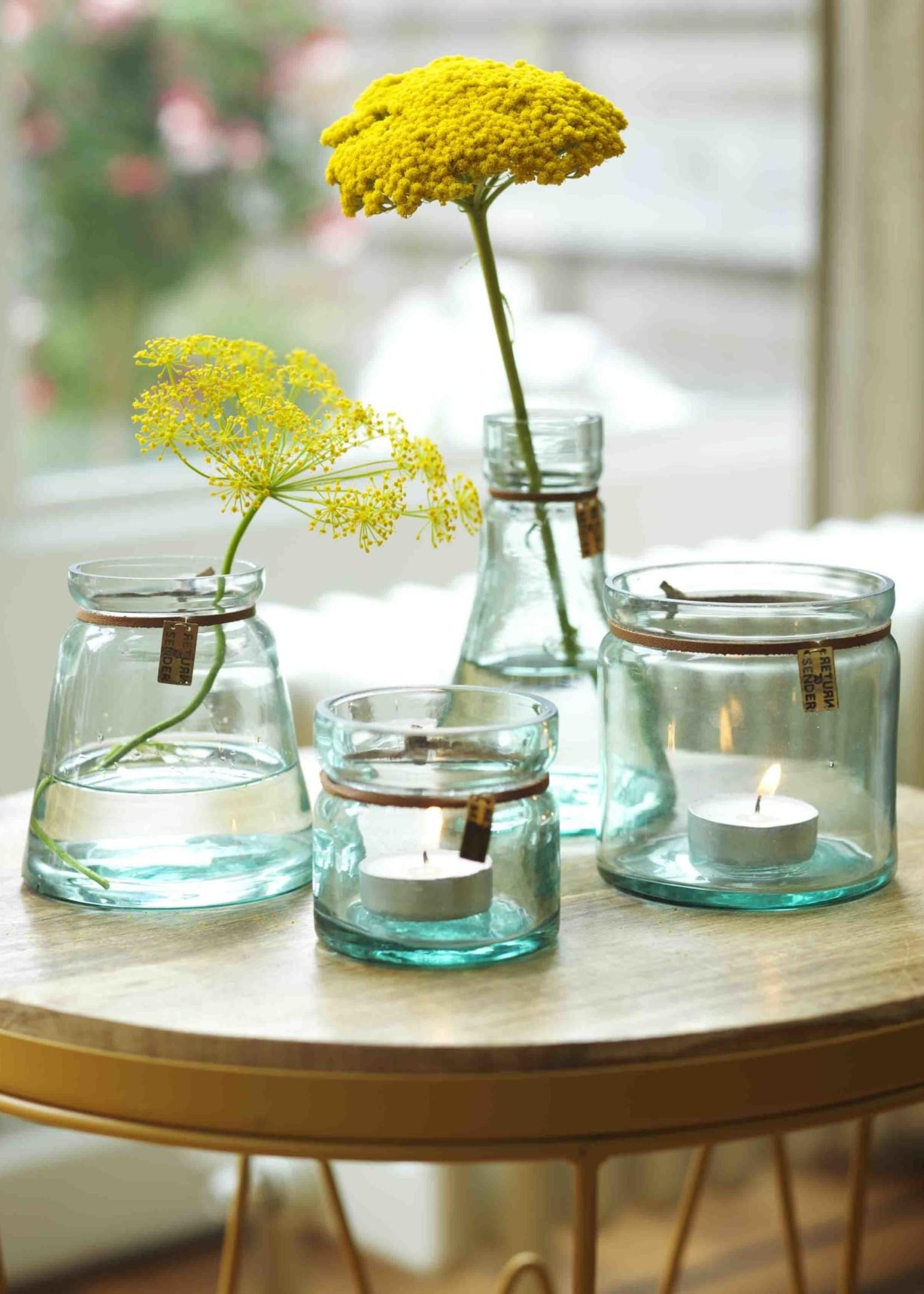 Return to Sender Return to Sender - Recycled Glas Vaasje