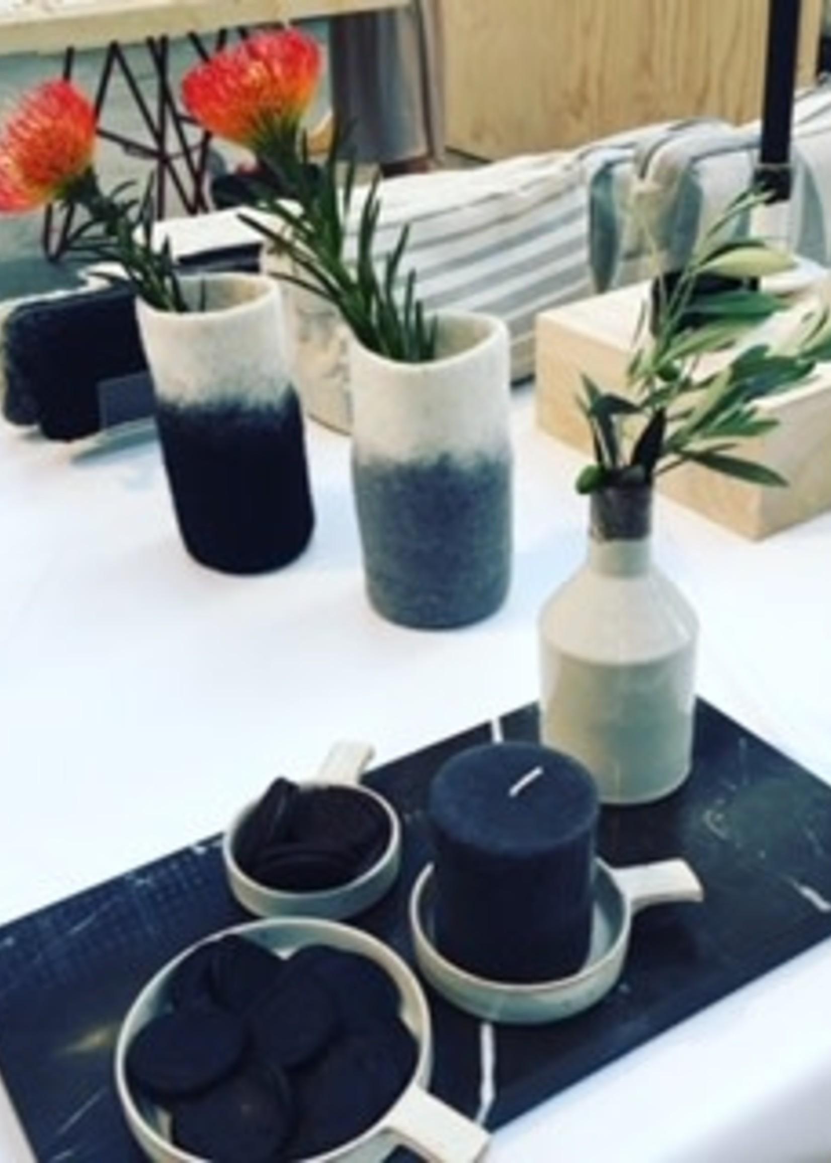 Anna Nera ANNA NERA Fairtrade keramiek Schaaltje - Bakje - Tapasbakje - Kaarsenhouder S