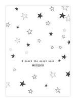 A Beautiful Story Greeting Card Stars