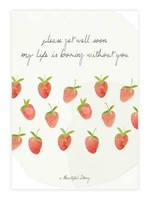 A Beautiful Story Greeting Card Strawberries