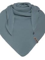 Knit Factory Knit Factory - Zomersjaal biologisch katoen - Omslagdoek - Stone Green - Duurzaam