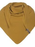Knit Factory Knit Factory - Zomersjaal biologisch katoen - Omslagdoek - Oker - Duurzaam