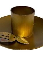 De Weldaad De Weldaad- Kaarsenhouder - goud