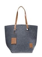 Knit Factory Tess Shopper -Antraciet