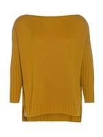 Knit Factory Knit Factory - Kylie Sweater Gebreid - Oker