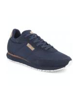 Woden Navy Blauw -  Sneaker Signe - Woden