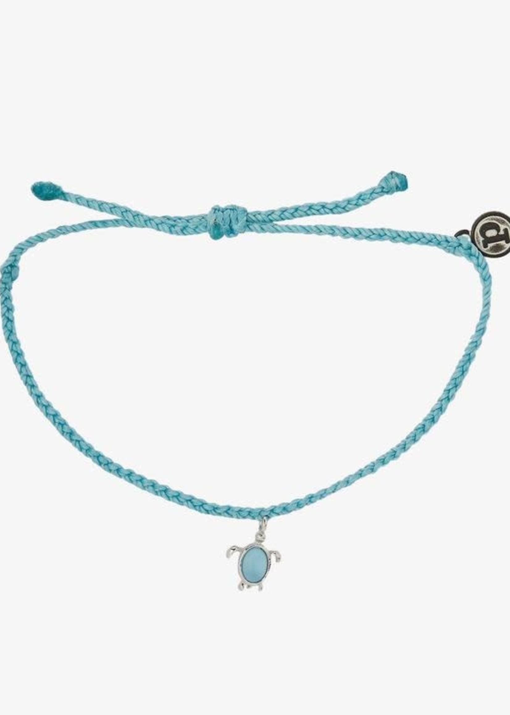 Pura Vida Armbandje blauw schildpad - Pura Vida