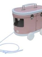 O'that We love happy baby & kids O That  Babyhebbedingetjes - Koffer Tram Roze