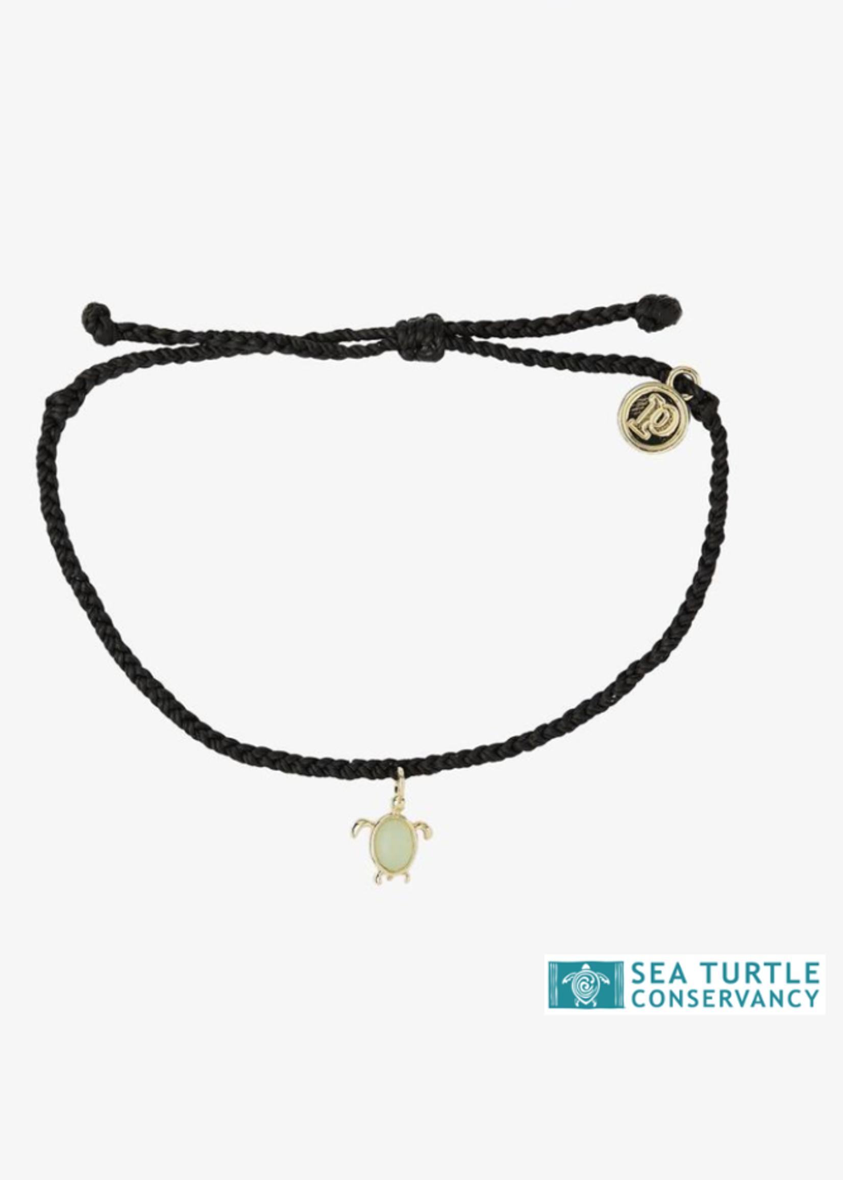 Pura Vida Armbandje zwart schildpad - Pura Vida