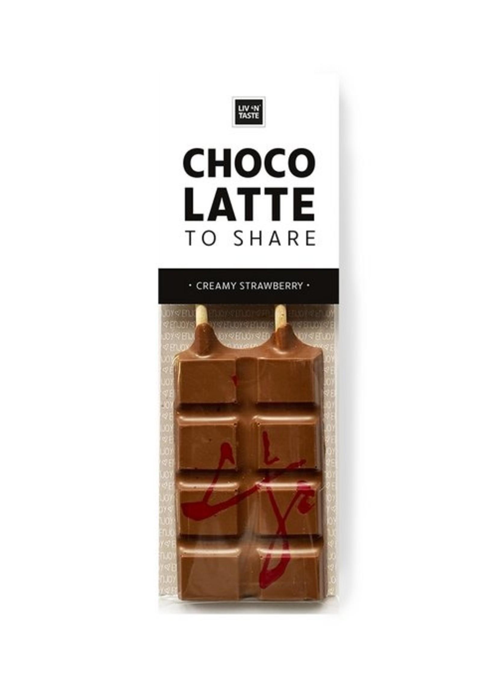 Liv 'n Taste Liv n Taste - Chocco to Share - Creamy Strawberry