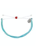 Pura Vida Armband blauw-  For the Ocean - Pura Vida - Charity