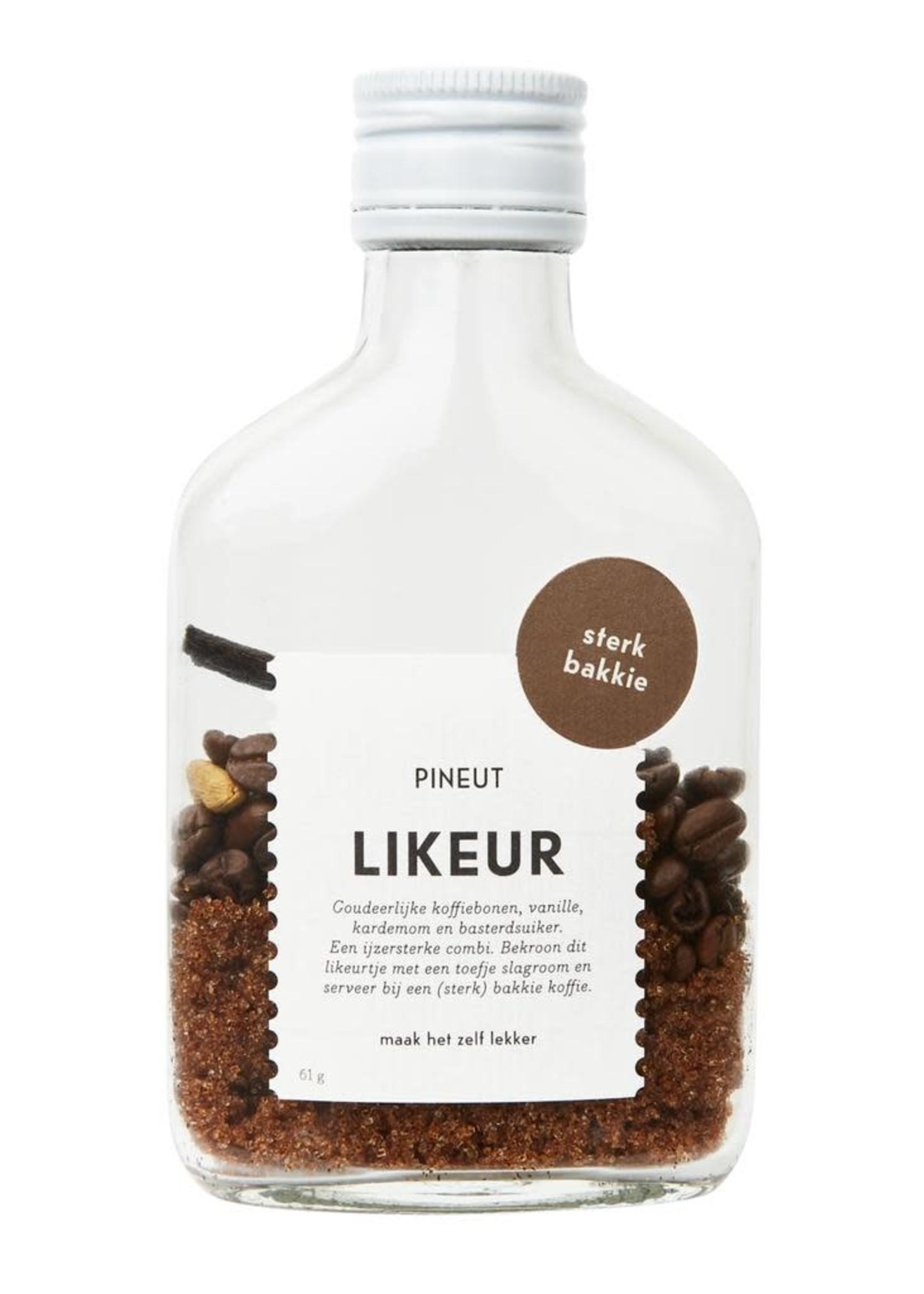 Pineut Pineut- Sterk Bakkie Zakflacon-Likeurtje zelf maken