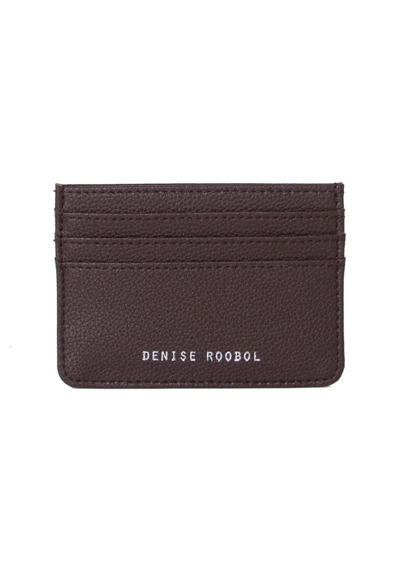 Denise Roobol Denise Roobol- DR Cardholder- Cognac- Vegan