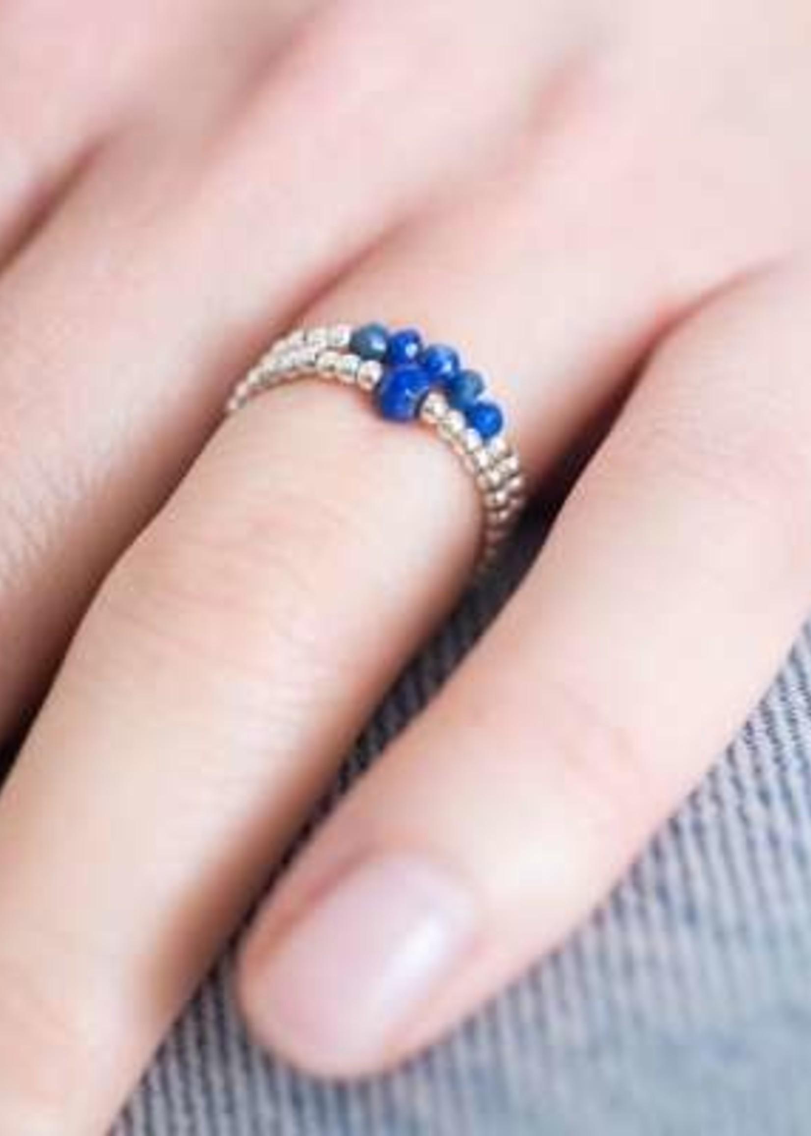 A Beautiful Story a Beautiful Story Beauty Lapis Lazuli Ring M/L