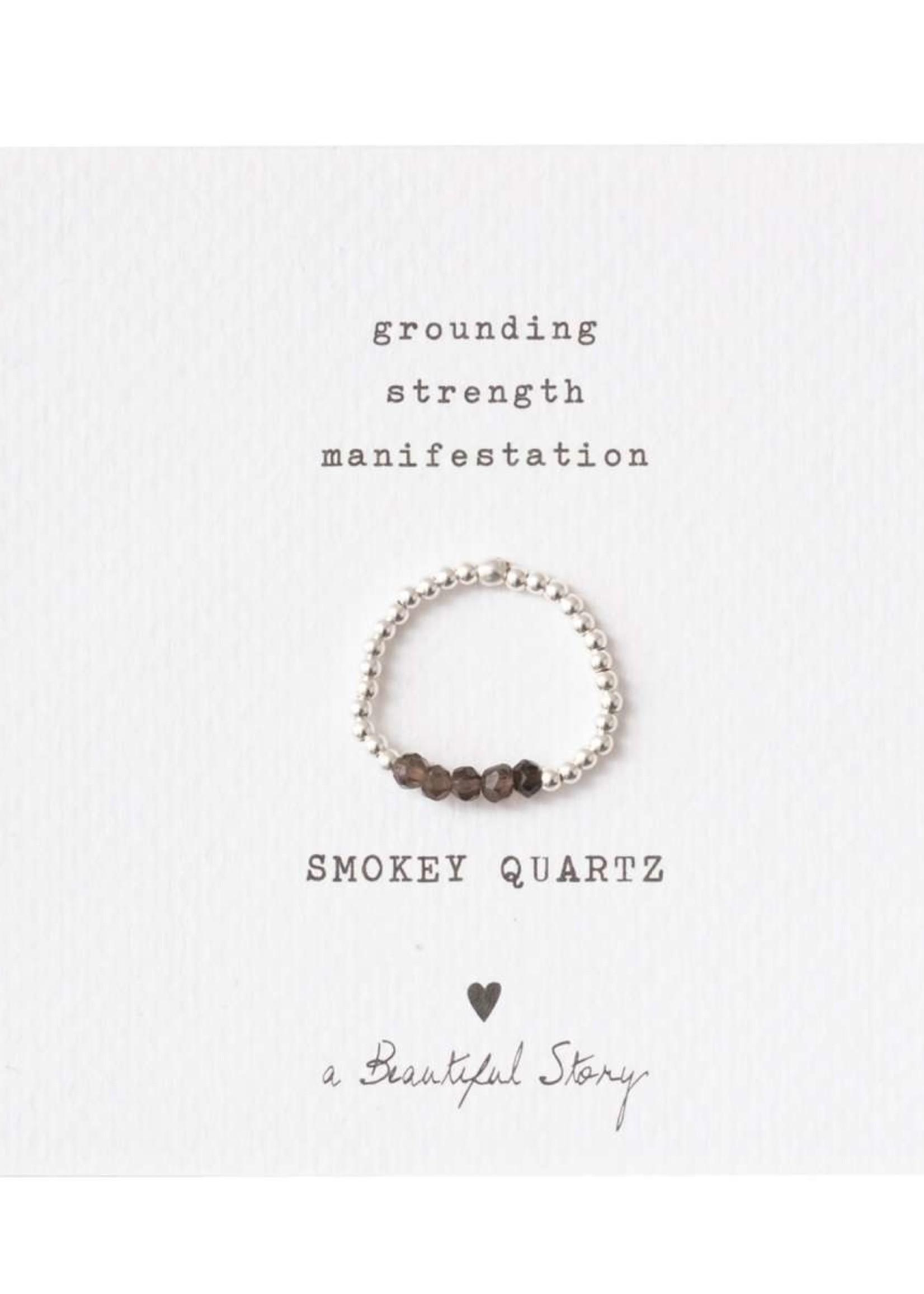 A Beautiful Story a Beautiful Story Beauty Rookkwarts Ring M/L