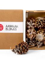 Mooi Door Mij door ZodieZijn Mooi Door Mij - Aanmaakblokjes dennenappels (doosje)