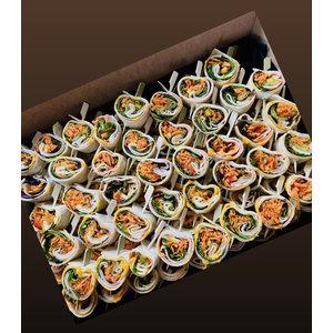 Mini wraps - 30 stuks