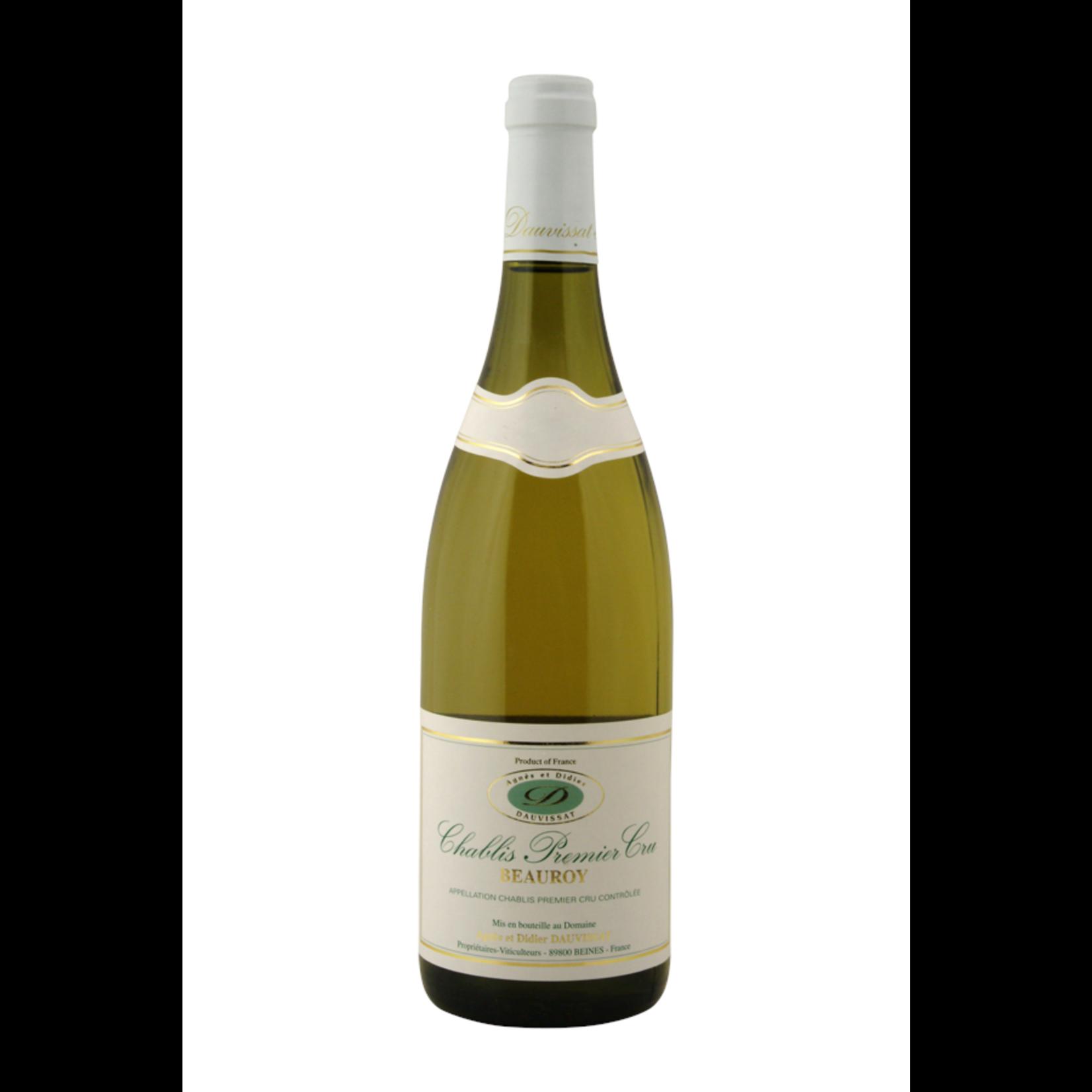 Domaine Dauvissat Chablis premier cru 2016 half flesje