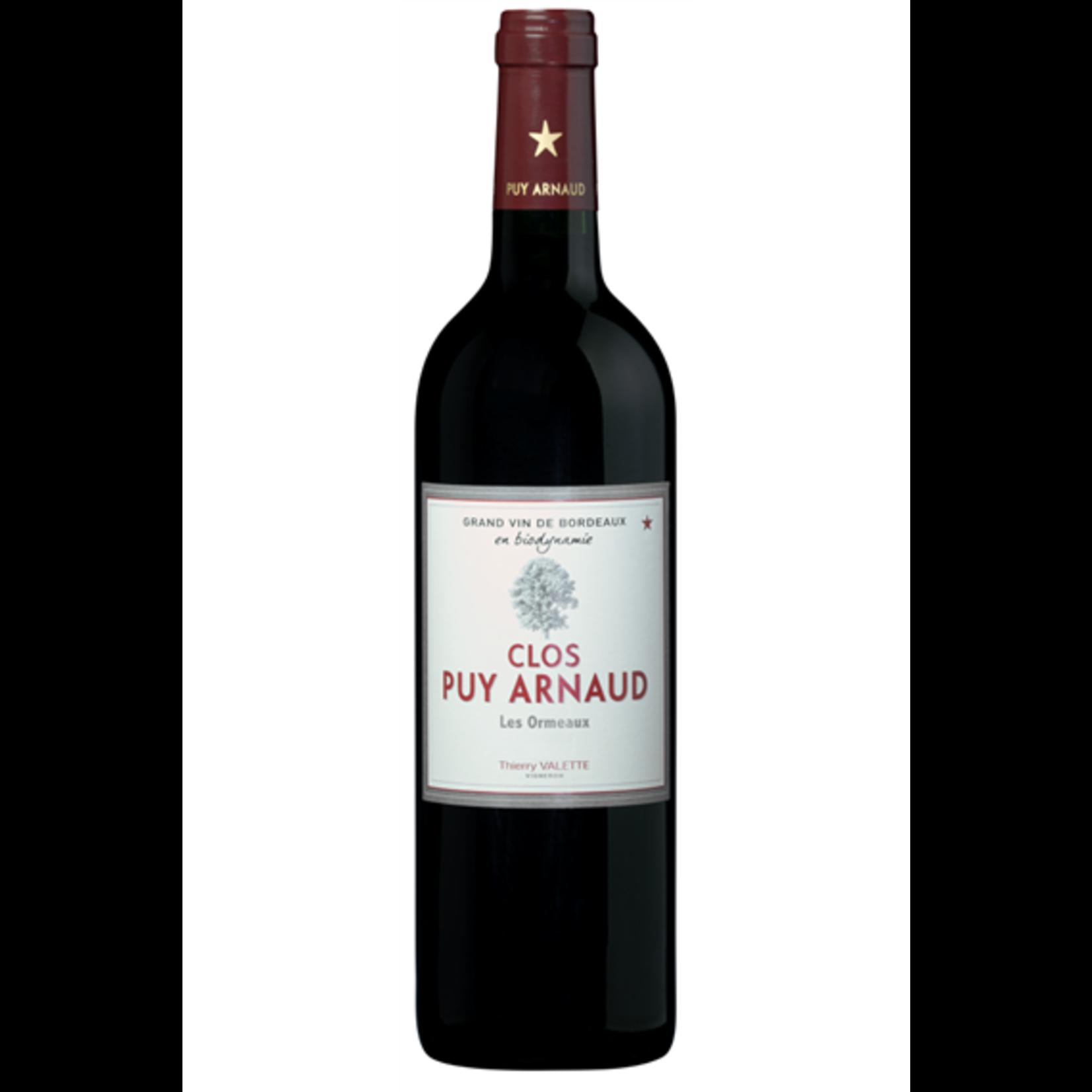 Clos Puy Arnaud Cuvee Les Ormeaux, Castillon Cotes de Bordeaux, 2016
