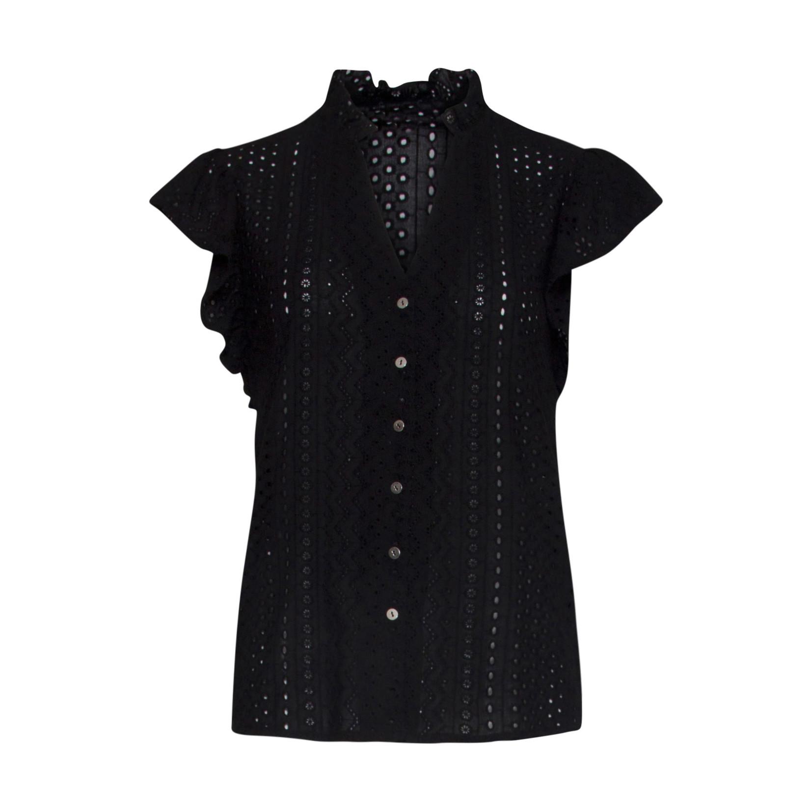 Smashed Lemon Smashed Lemon blouse black 21177
