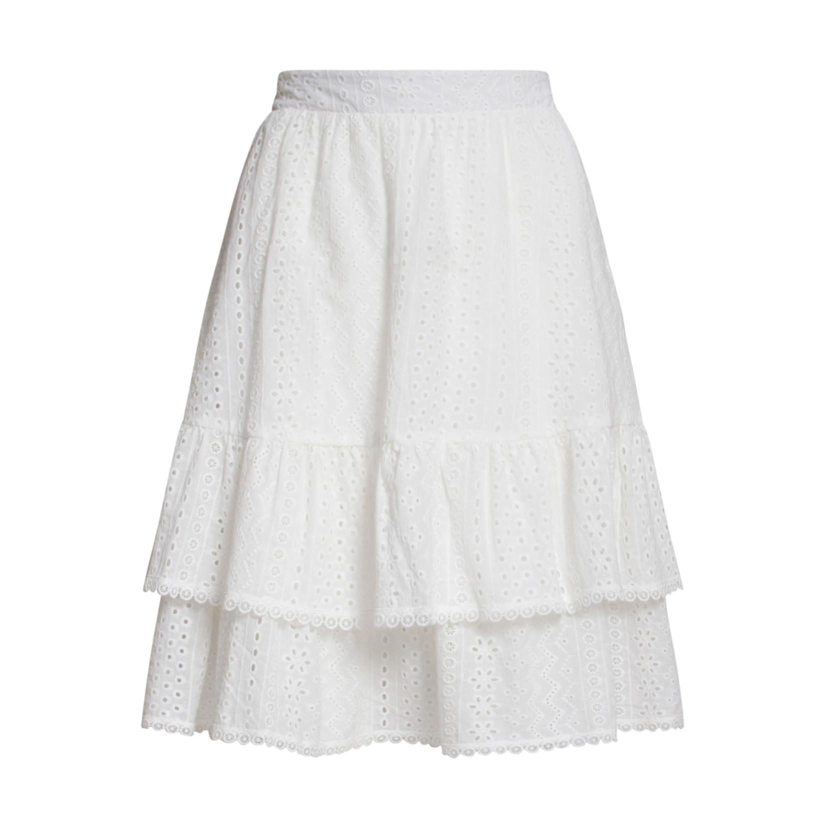 Smashed Lemon Smashed Lemon Skirt white 21178