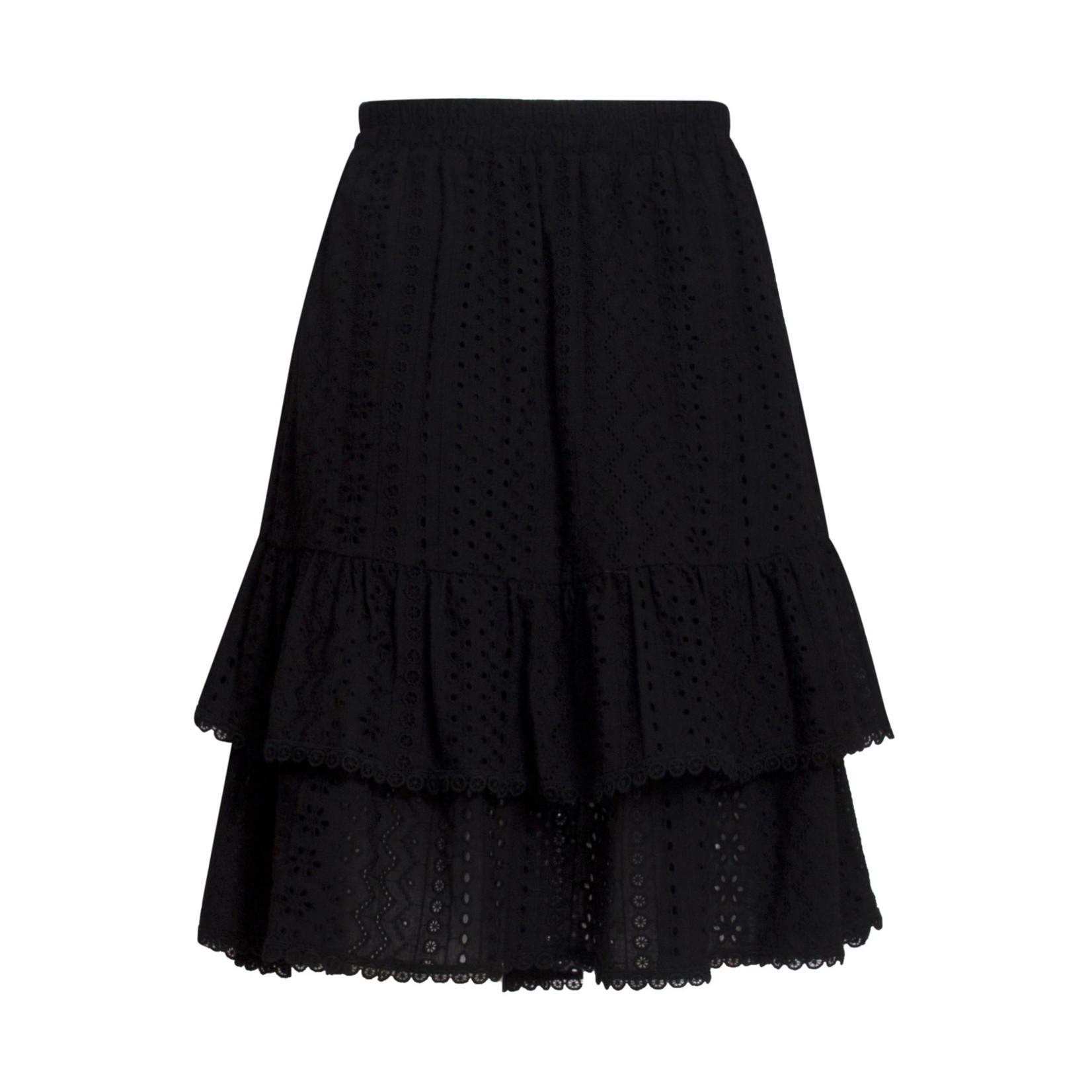 Smashed Lemon Smashed Lemon skirt black 21178