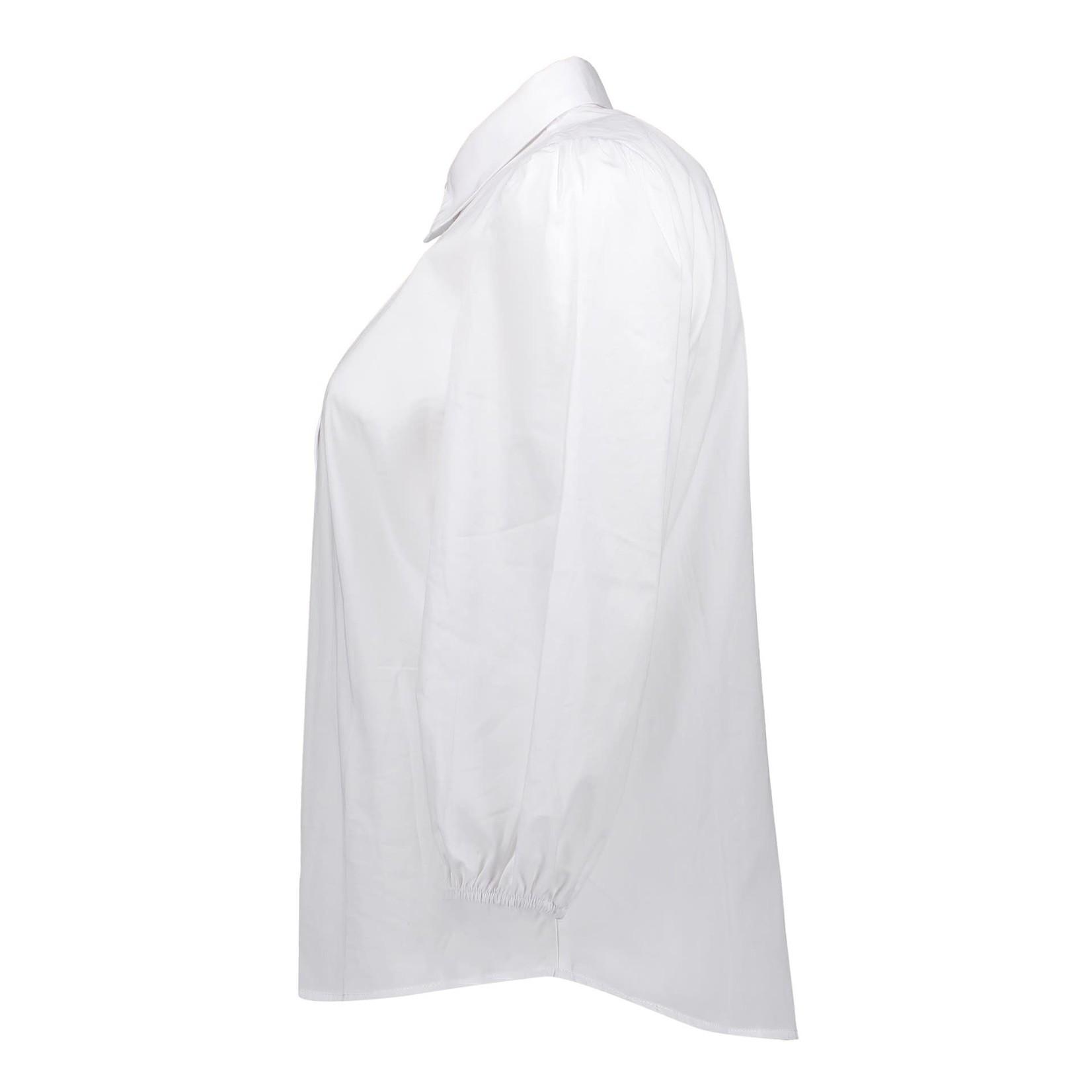 Geisha Geisha blouse poplin white 13120-24