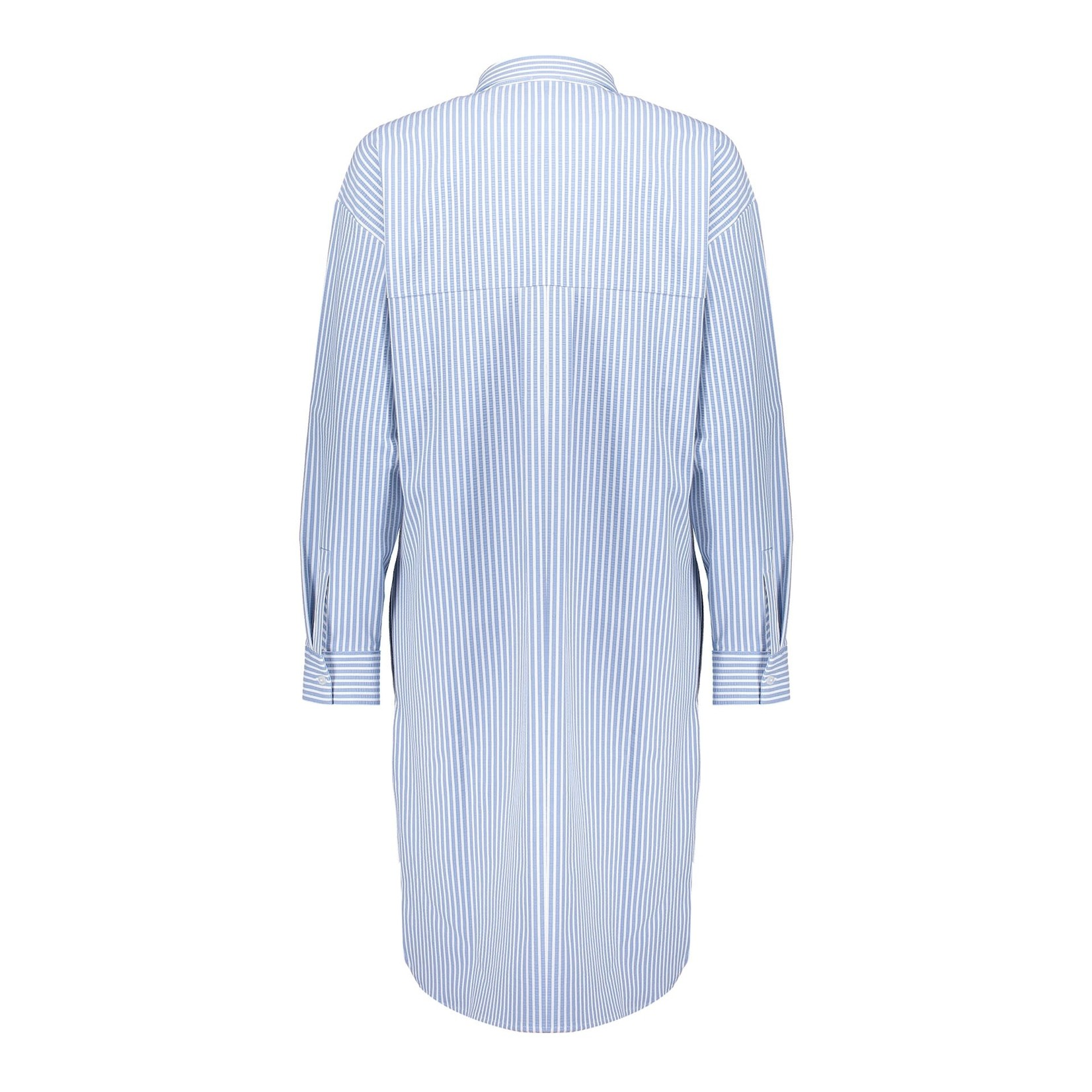 Geisha Geisha dress blue striped  17133-20