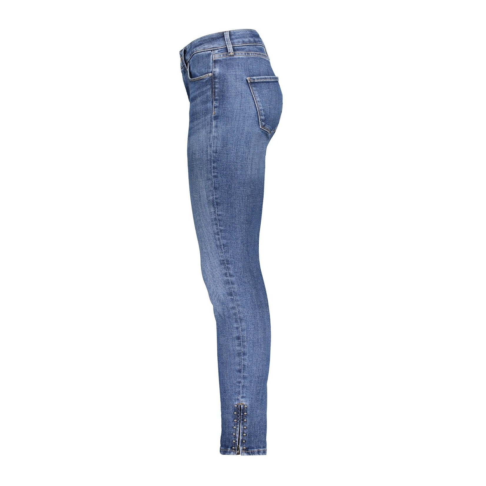 Geisha Geisha Jeans skinny with zipper bleu denim 11093-44