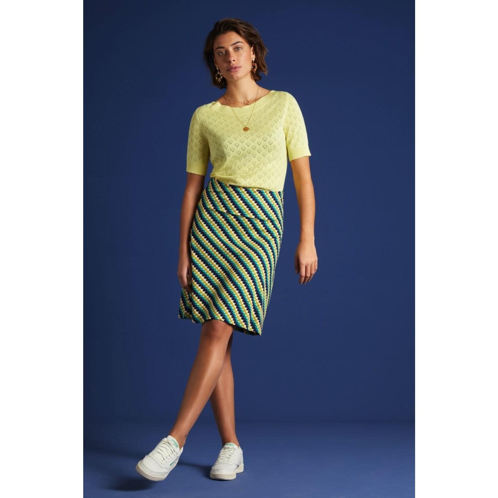 King Louie King Louie Border Skirt Daze 06150