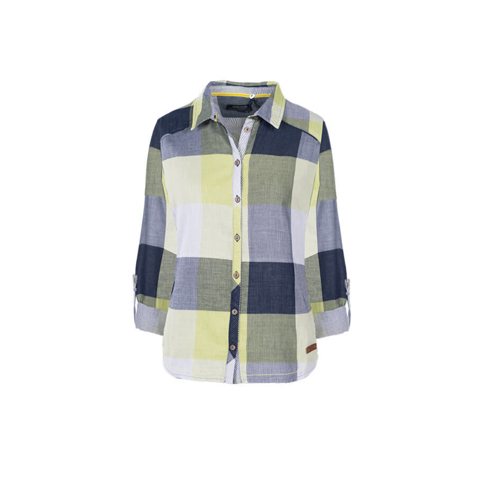 Soquesto Soquesto bluse vivid lime 6160-501772