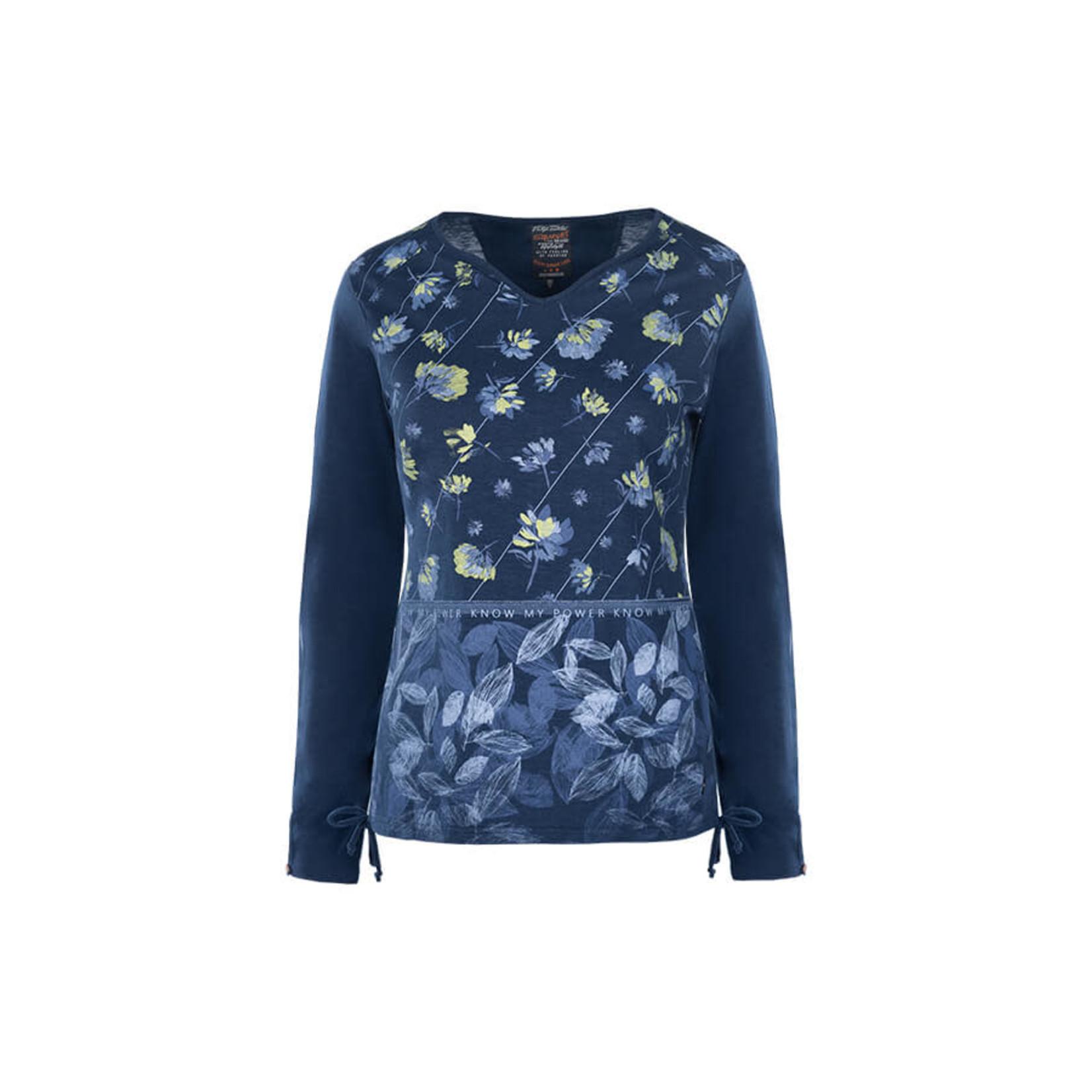 Soquesto Soquesto shirt maze bleu 6180-501743