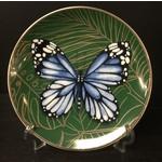 Heinen Heinen Delfts Blauw wandbord Vlinder 15.5 cm
