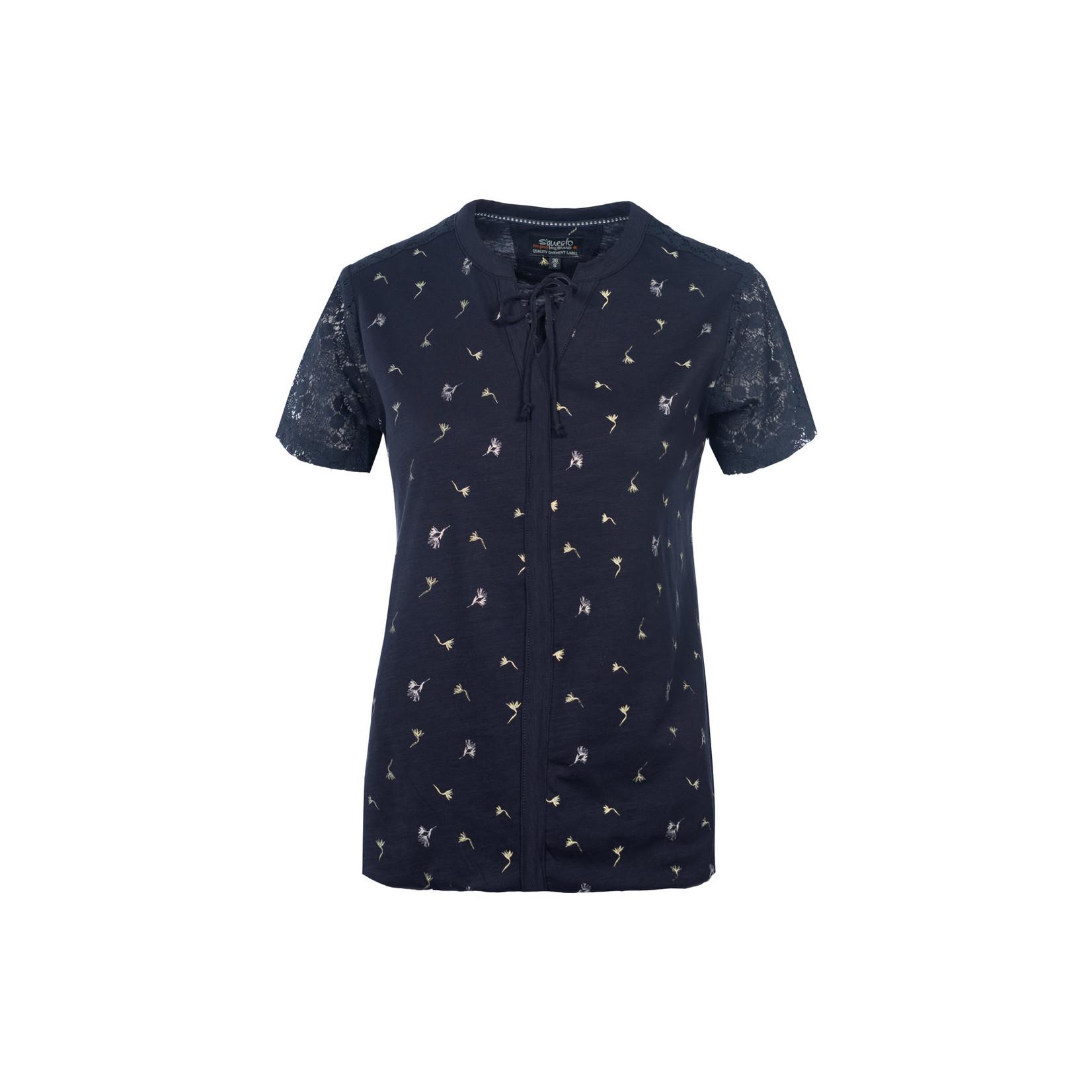 Soquesto Soquesto Shirt ½ 6180-501823 navy