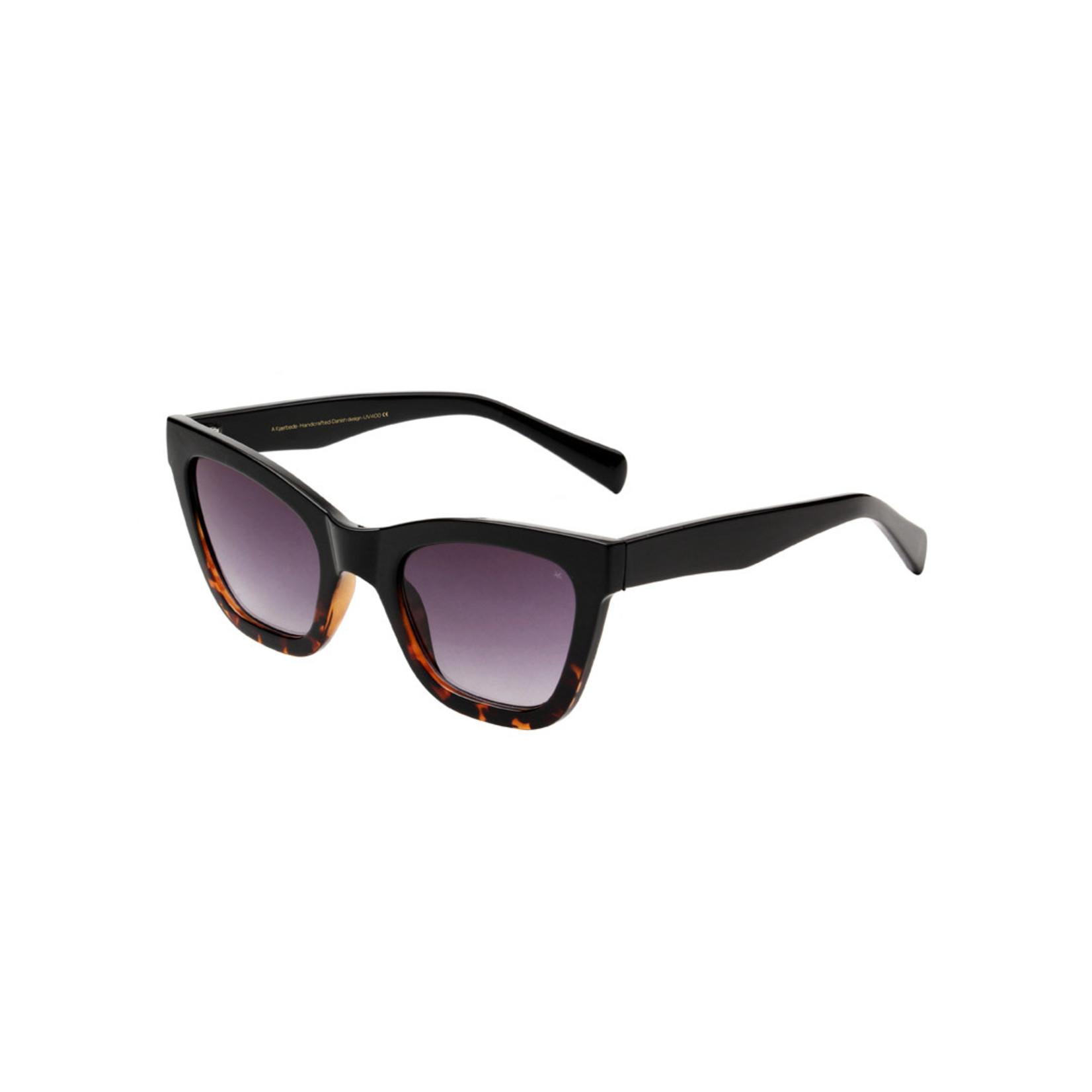 Kjearbede Kjearbede zonnebril  Big Kanye Black/Demi/Turtoise  / KL2103-004
