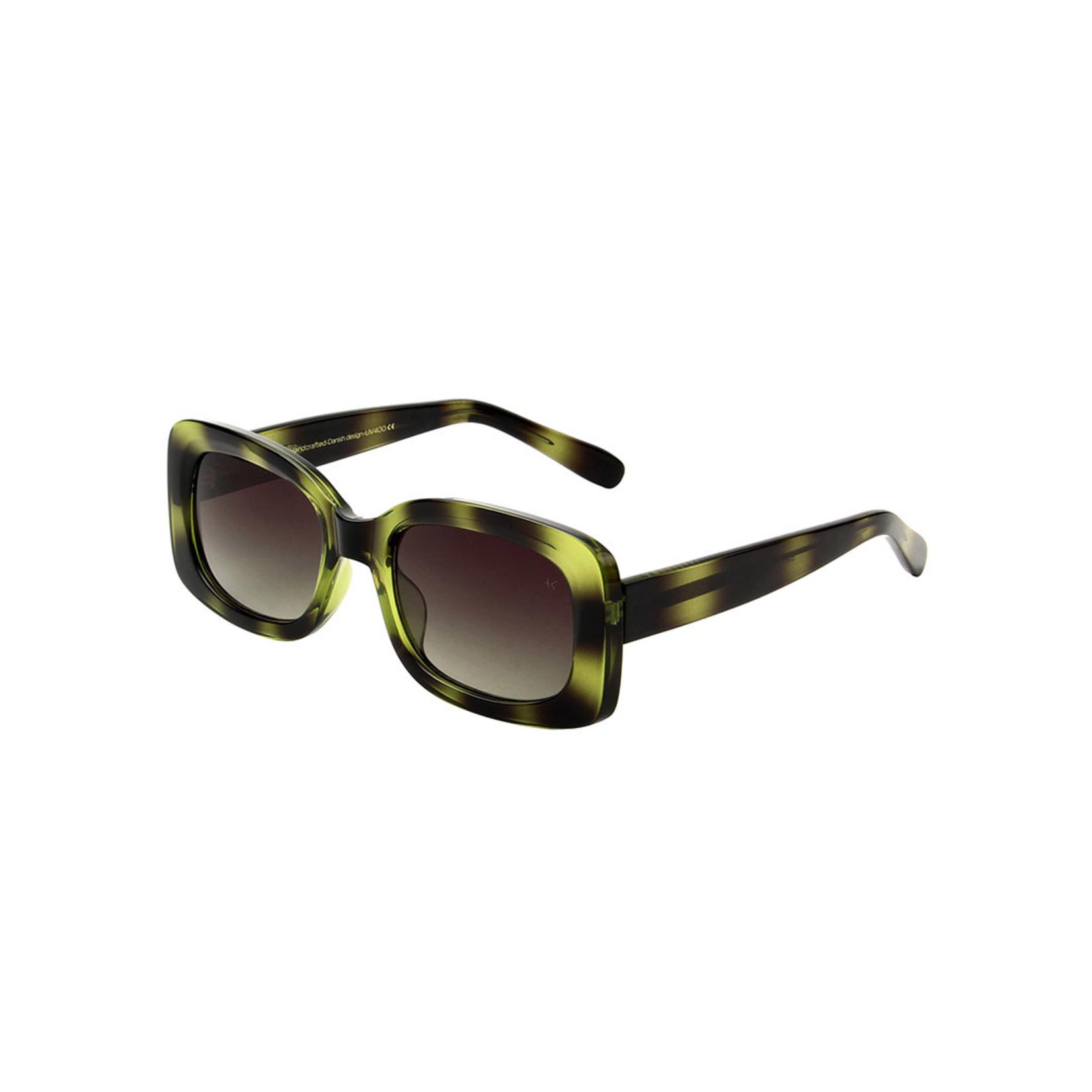 Kjearbede Kjearbede zonnebril Salo Demi Olive /KL2115-005