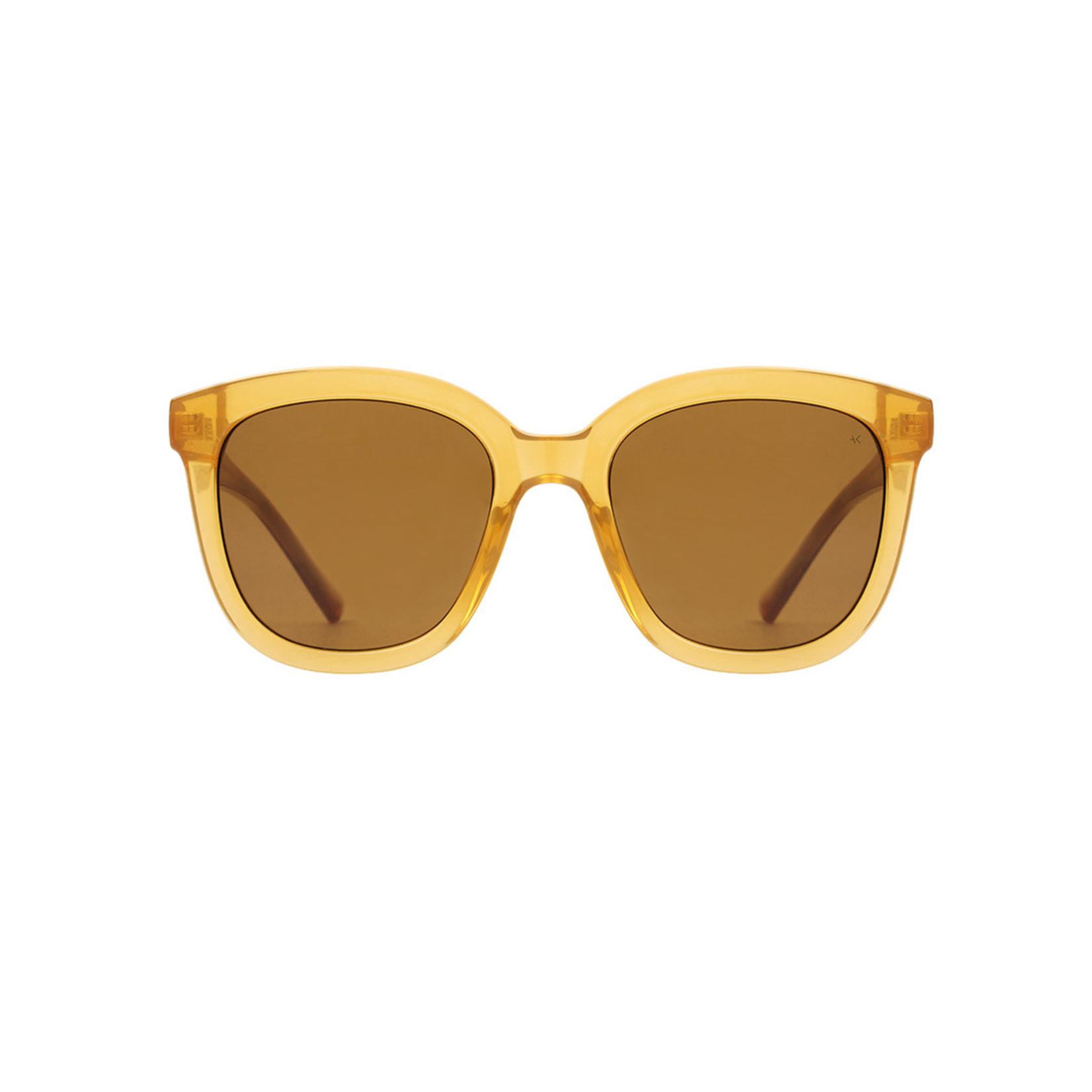 Kjearbede Kjearbede zonnebril Billy Light Brown Transparent  /KL2106-006