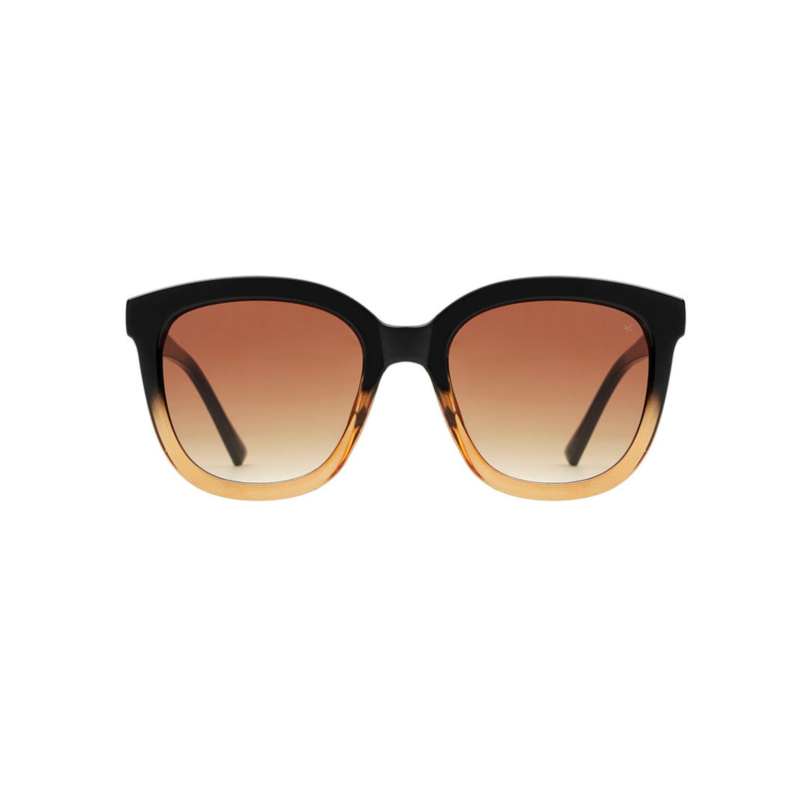 Kjearbede Kjearbede zonnebril Billy Black/Brown / KL2106-005