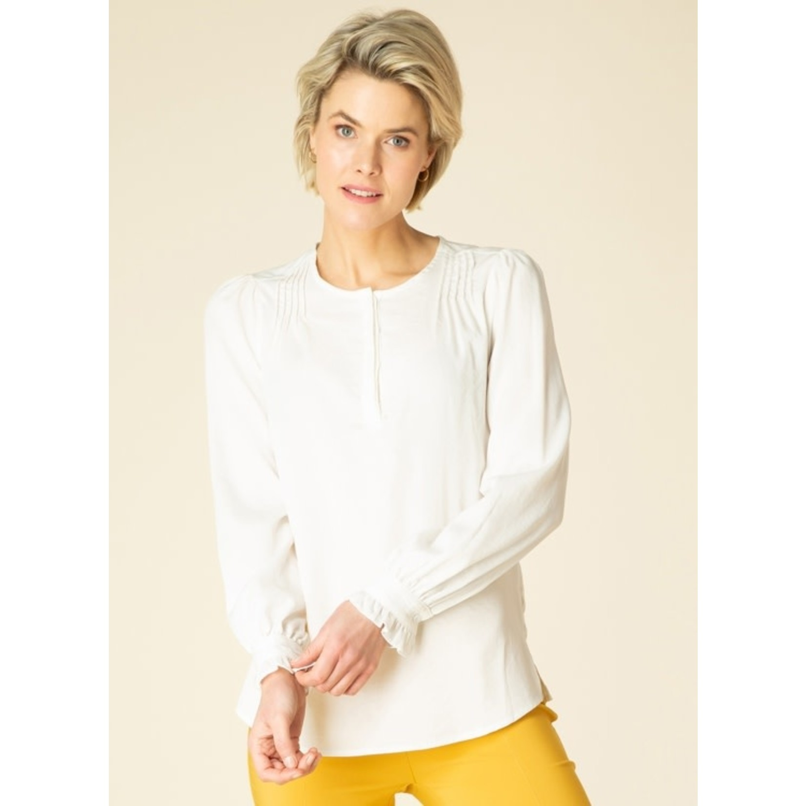 Ivy Beau Blouse Trudy Off White 4000047
