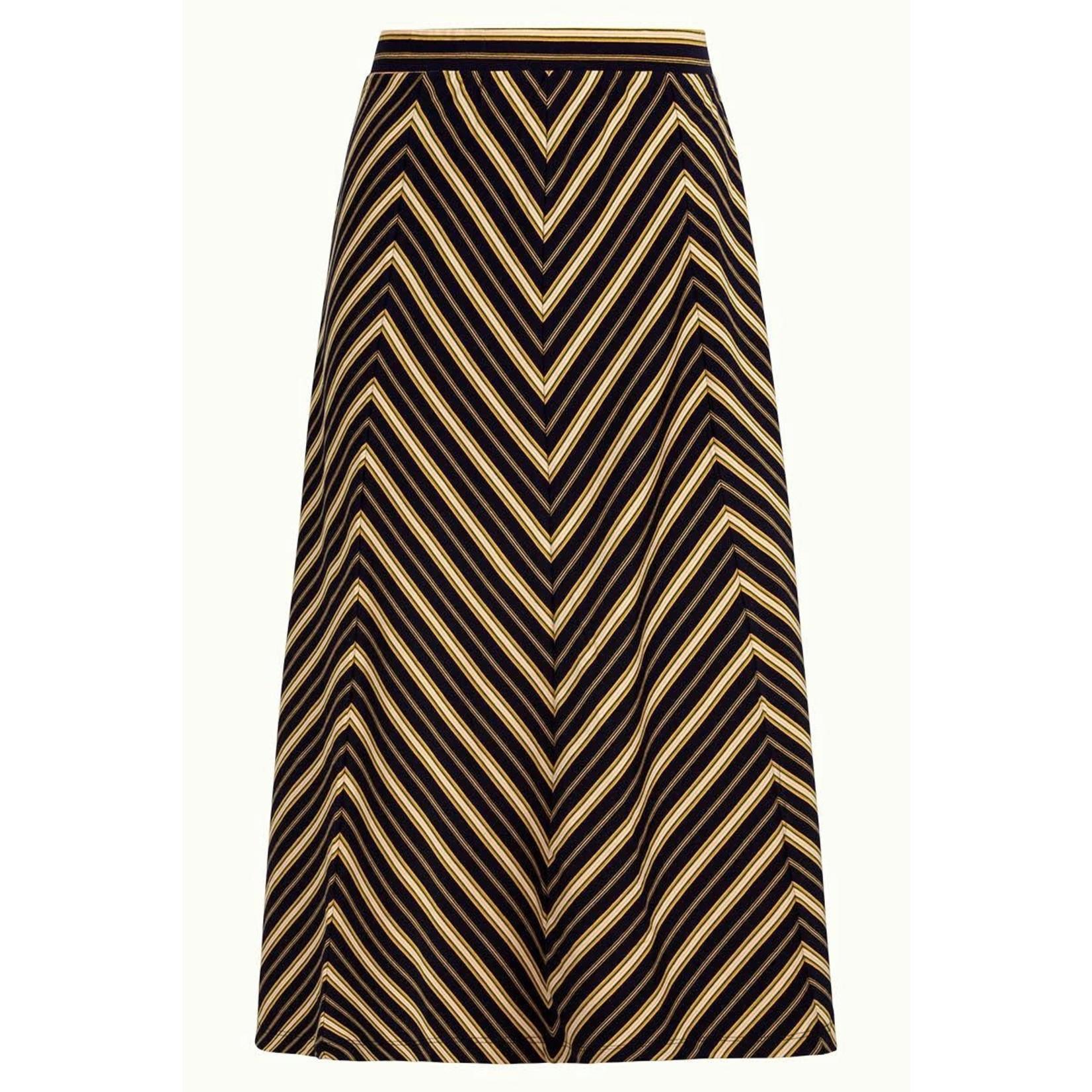 King Louie king Louie Juno Panel Skirt Gonzalez Stripe 06080