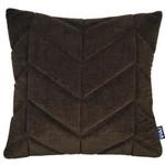 Volt Volt 3D cushion Golden brown velvet 45x45cm