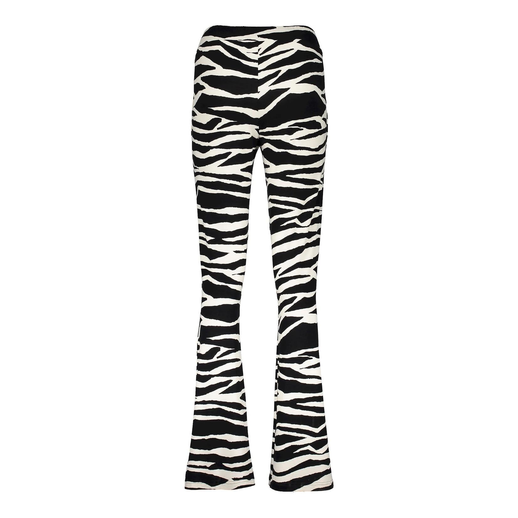 Geisha Geisha pants AOP zebra 11104-20